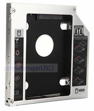 SATA 2nd HDD HD SSD hard drive Caddy for Dell XPS 15 L501X L502X 17 L701X L702X