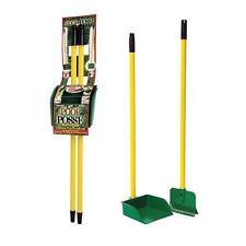 Pet Poop Posse -Dog Poo Pick Up Rake & Pan 2 in 1 System -Backyard Garden & Lawn