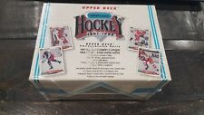1991-92 Upper Deck Czech Hockey Factory Sealed Wax Box Hockey Cards