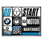 BMW Motor Magnet Set 9 tlg. Poly Box Nostalgie Set NEU