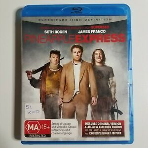 Pineapple Express   Blu-ray Movie   Seth Rogen, James Franco   Comedy/Action