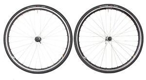 HED Belgium Plus+ Alloy Tubeless Clincher Road Bike Wheelset 700c Shimano Rim QR
