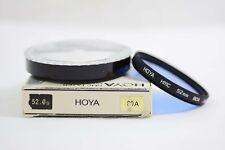 HOYA HMC 52MM 80A BLUE CAMERA LENS FILTER (MINT)
