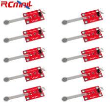10pcs Flexible Thin Film Pressure Force Sensor Module 3pin Header Dc 33v 5v