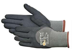 PIP GTek 34-875 MaxiFlex Ultimate Nitrile Micro Foam Coated Gloves - XXSM - XL