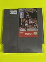 🔥100% WORKING NINTENDO NES Classic Game Cartridge 🏀 TECMO NBA Basketball 🏀