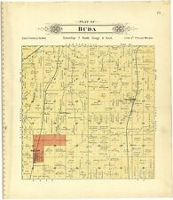 Lancaster County atlas Nebraska 1903 plat maps old Genealogy history P114