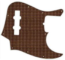 J Bass Pickguard Custom Fender Graphic Graphical Guitar Classic Grille Cloth 1
