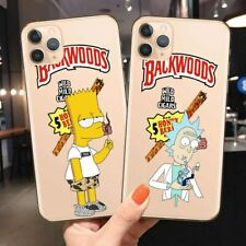 Backwoods Rick and Morty Phone Case For iPhone 6 6S 7 8 Plus X XS Max XR 11 Pro