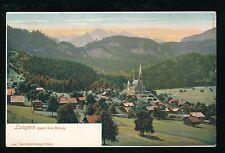 Switzerland LUNGERN General view 1900s? U/B PPC