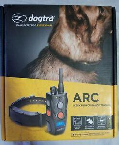 Open Box Dogtra ARC Slim 3/4-Mile Remote Dog Training Collar. Includes FS!