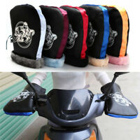 Motorcycle Handlebar Snowmobile Waterproof Winter Hand Warm Covers Gloves U NTAT
