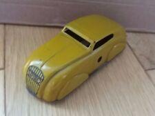 Lovely tin clockwork Spiro streamlined car, Jouet? Jouef? made in France- WORKS