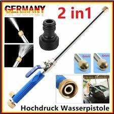 2 In1 Hochdruck-Wasserpistole Jet Wand Düsensprayer Gartenwaschwagen + 2 Sprays