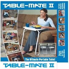 PORTABLE MATE TV DINNER LAPTOP TRAY ADJUSTABLE FOLDING TABLE DESK SOFA BED Gift