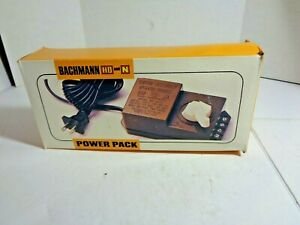 Bachmann HO and N Scale Transformer Power Pack