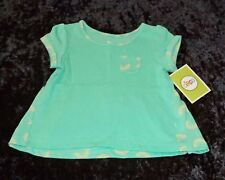 Rainbows Trapeze T-Shirt Top in Green Infant/Toddler Girls (SIZE 12 Months) NEW!