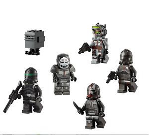 LEGO: Star Wars Bad Batch Minifigures from 75314. New & Unbuilt.