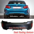 M2 (F87) Style Rear Bumper (Quad Exhaust) Fits 14-21 BMW F22 F23 2-Series 2dr