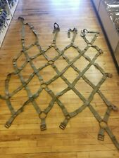 Military Aircraft Ship Pallet Cargo Net Load Tie Pickup Truck Bed Trailer USED