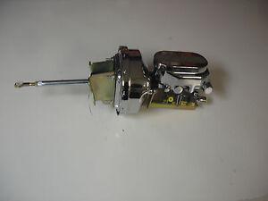 1961 - 1964 Ford Thunderbird chrome power brake booster master disc drum pv2c
