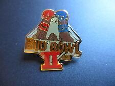 1990 BUD BOWL II COMMEMORATIVE  LAPEL PIN  BUDWEISER SUPER BOWL