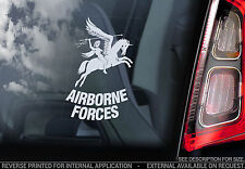 Airborne Forces - Car Window Sticker - British RAF Royal Army Military Veteran