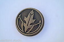Hybrid/Gold Team Power Weathered Coin Prop Ranger, Fits 2013 Morphers Only