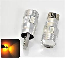 License Plate Light T10 168 194 2825 12961 LED Amber Canbus Bulbs K1 For BMW K