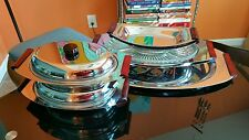 Glo Hill Chrome Serving mid century modern Pieces