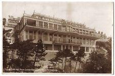 Folkestone LEAS CLIFF HOTEL LOWER SANDGATE ROAD Kent OLD RP PHOTO POSTCARD