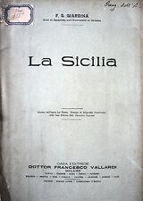 SICILIA GEOGRAFIA STORIA LOCALE CON CARTA E ILLUSTRAZIONI
