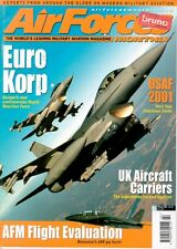 AIR FORCES MONTHLY 2/01 ROYAL NAVY AIRCRAFT CARRIERS HMS ILLUSTRIOUS HMS HERMES