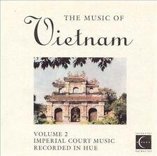 NEW Music Of Vietnam, Vol. 2: Imperial Court Music (Audio CD)