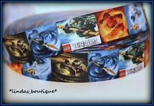 "1YD 1"" LEGO NINJAGO CRAFTS HAIRBOW PRINTED GROSGRAIN RIBBON MULTICOLOR"