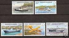 Guernsey # 227-31 Mnh Interisland Transportation Boats