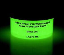 Glow Inc. Ultra Green V10 Water Based Glow in the Dark Paint (1/2 Oz)