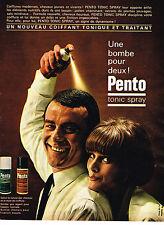 PUBLICITE ADVERTISING 114  1964  PENTO   tonic-spray