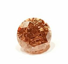 $1260 Natural Fancy Color .77ct Brown Diamond Loose UNTREATED Certified USA
