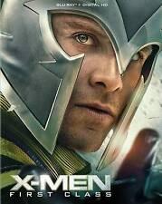 X-Men: First Class (Blu-ray Disc, 2016) W/SLIPCOVER, NEW