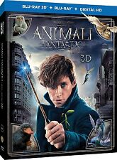 ANIMALI FANTASTICI E DOVE TROVARLI 3D (BLU-RAY 3D + BLU-RAY) da Harry Potter