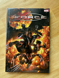 X-FORCE Deluxe HARDCOVER VOLUME 2 - Sealed NEW! Wolverine Domino Warpath X-23