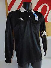 Vintage 90 DIADORA M Arbitro Maglia Calcio 39 Soccer Completo Pantaloncini Short