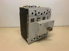 Moeller P74-100 100A Leistungsschalter, Circuit Breaker + DA-NZM7 Case switch