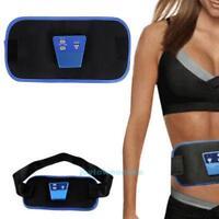 AB Gymnic Electronic Toning Belt Body Abdominal Arm Muscle Exercise Massage Slim