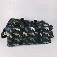 "Andy Warhol ""GUN"" pistol Print Large Luggage Bag Suitcase Visual Arts Inc"