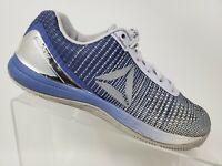 Reebok Crossfit Nano 7 Blue White Size 7.5 Womens Training Shoes
