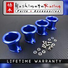 Blue Corolla GTS 20V 4AG AE86 Individual Billet Throttle Body Silvertop
