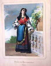 Salamanca, Charra. Litografía original, 1872.