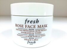 FRESH ROSE FACE MASK HYDRATES & TONES 3.3 OZ Same condition as picture